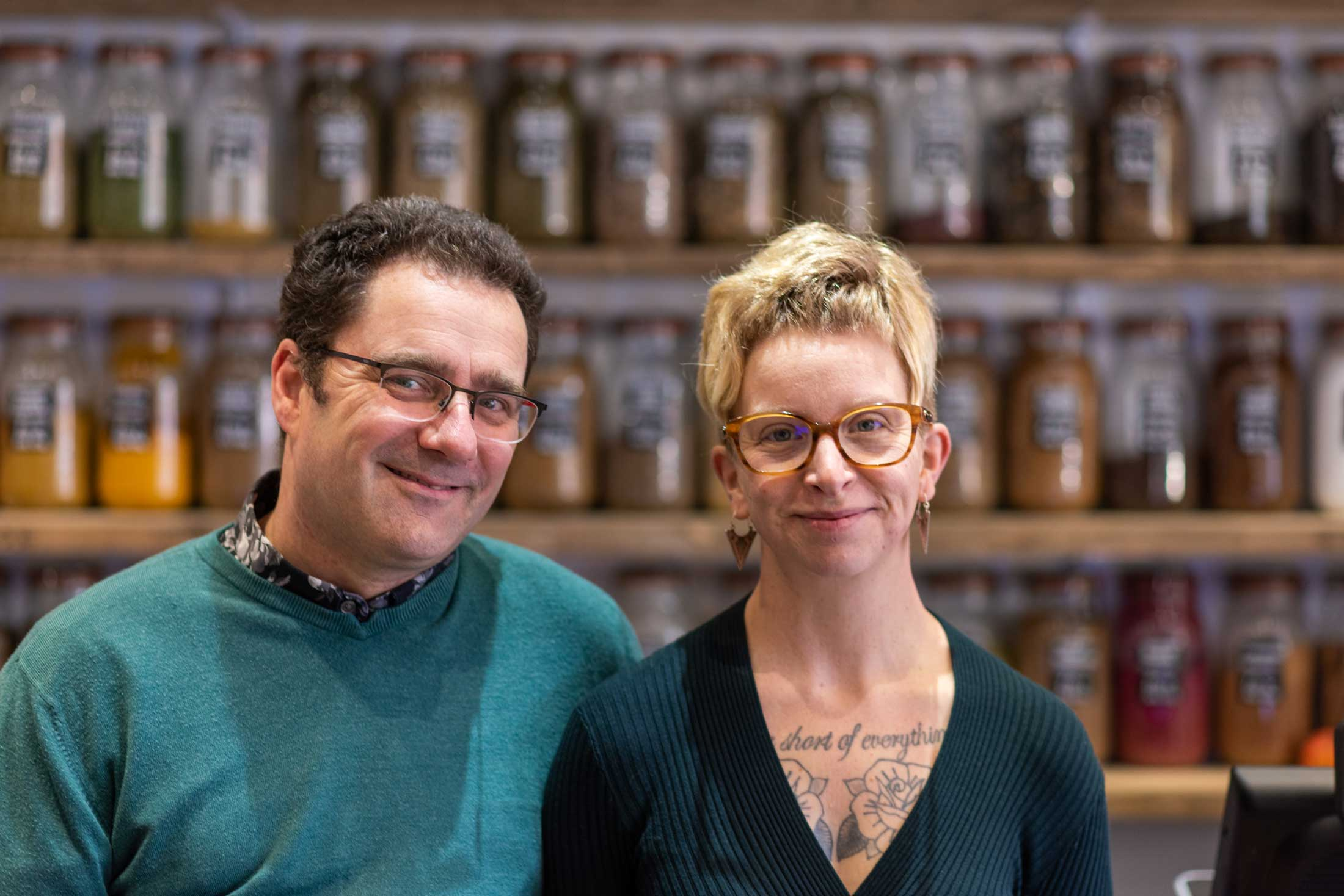 Owners of Zero Waste Eastbourne
